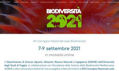 La Compagnia del Carosello al XIII Convegno Nazionale sulla Biodiversità